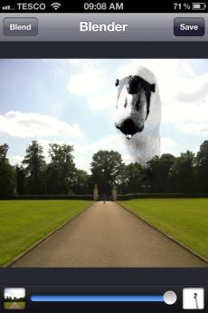 Image Blender App